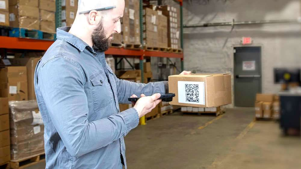 Sonim RS60 using on Box barcode scanner