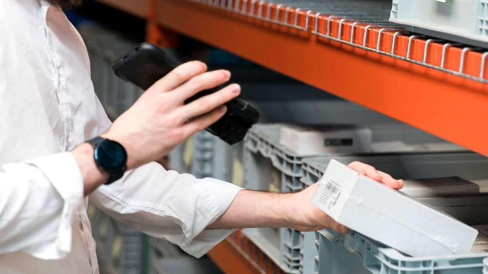 Sonim RS60 Scanning barcode