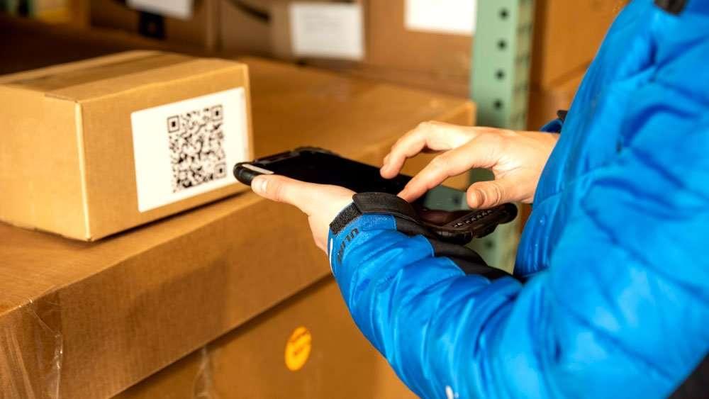 handheld data collection terminal scanning barcode