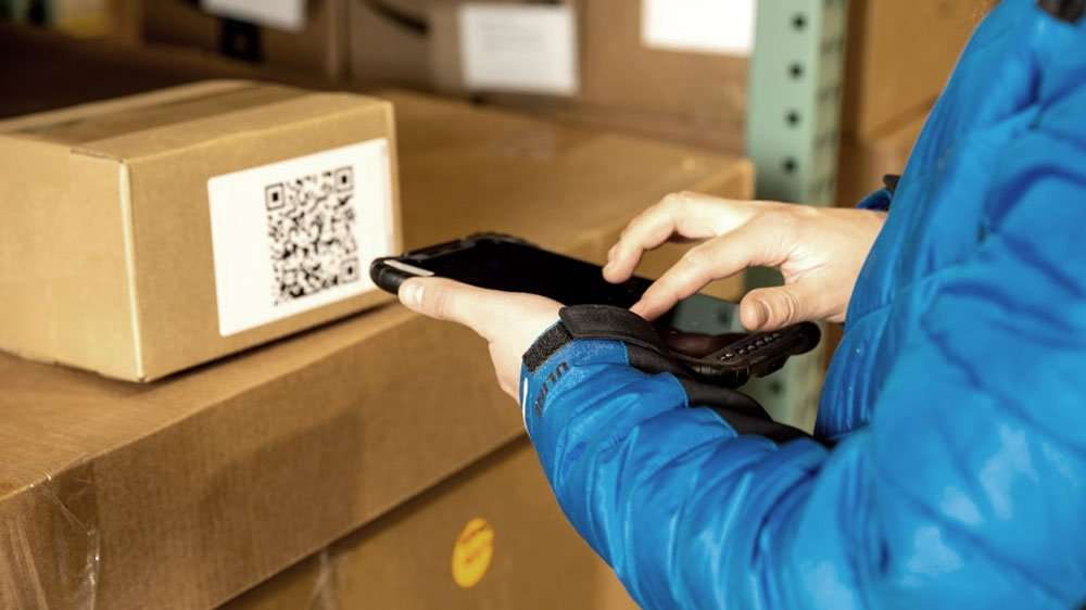 rugged mobile device barcode scanner
