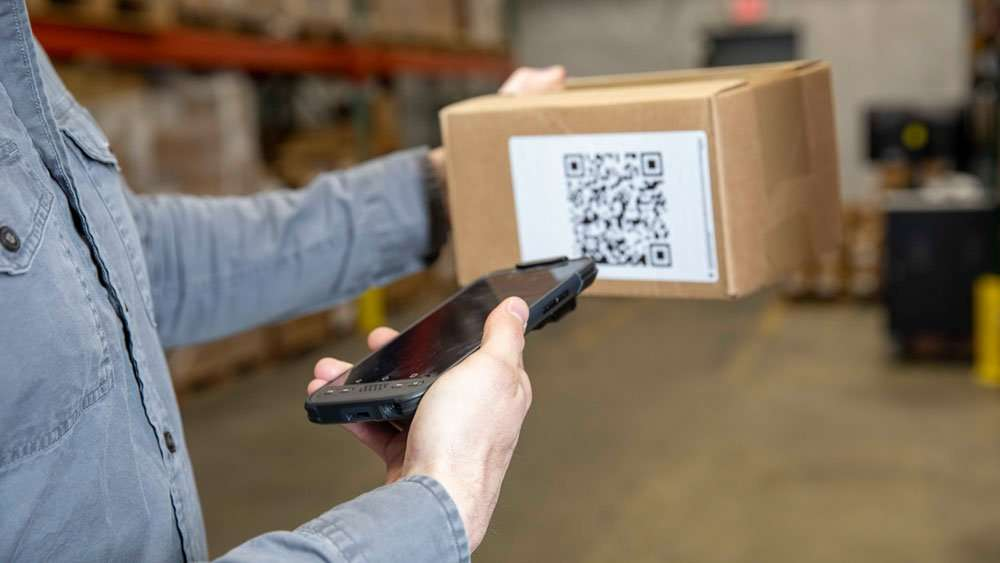 sonim RS60 rugged mobile barcode scanner