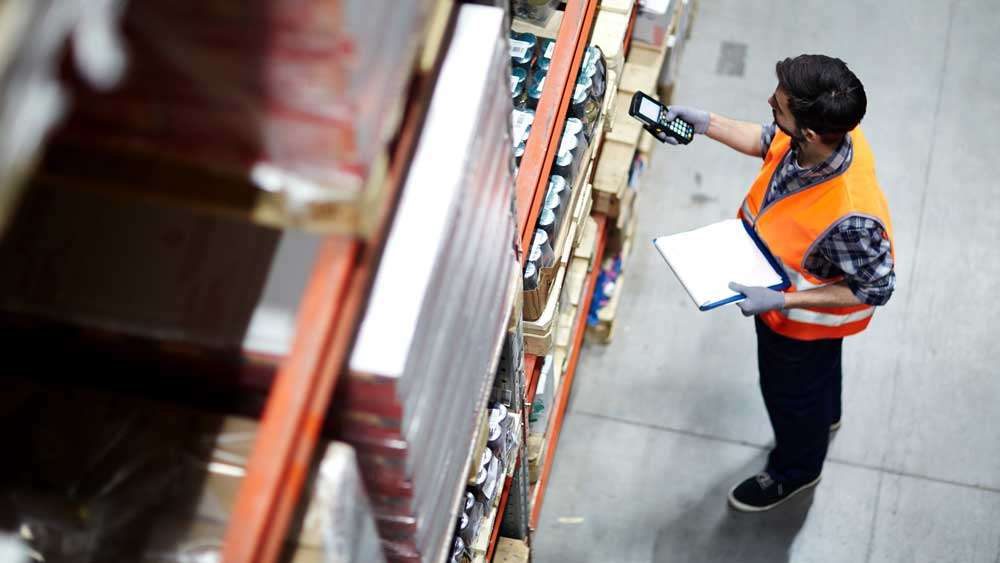 Warehouse scanning using Mobile Device Scanner