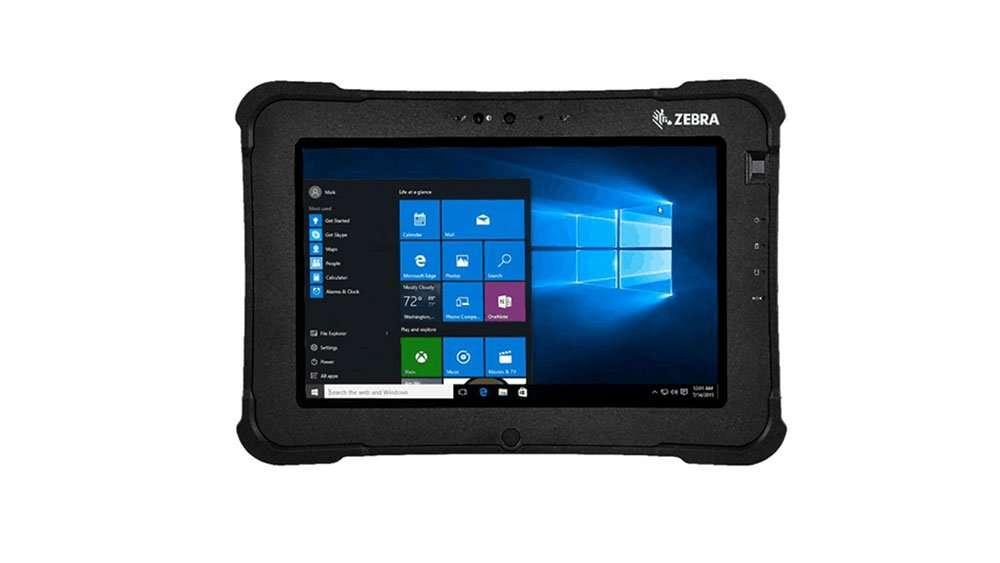 Zebra L10 XSLATE tablet for warehouse
