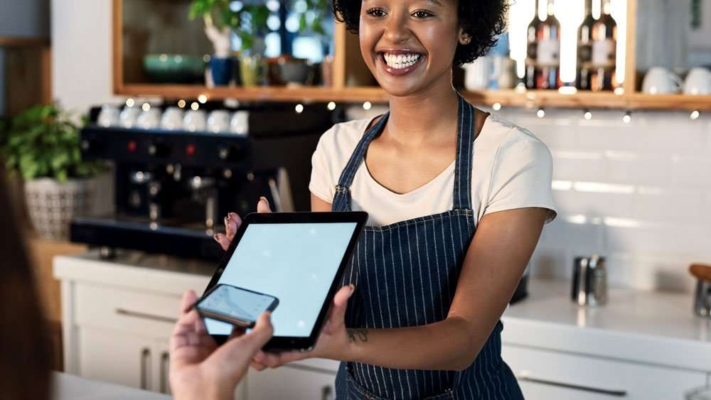 point of sale ipad cafe