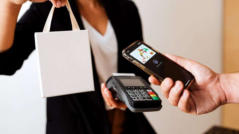 sale with contactless payment