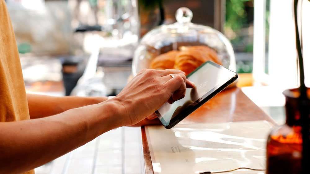 using Samsung Galaxy Tab Active to accept payments