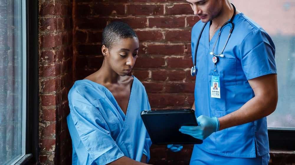 using tablet medical field