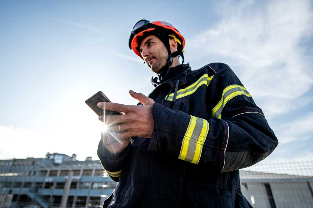rugged phones for firefighters