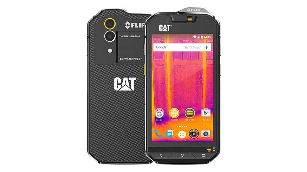 Cat S60 Rugged Smartphone for firefighters