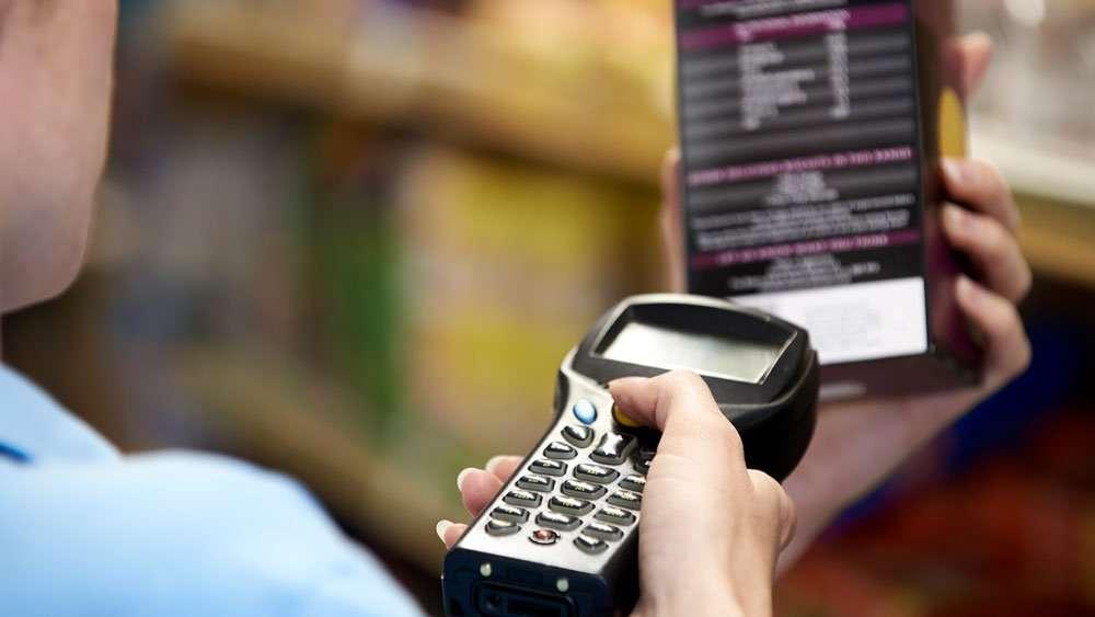 mobile computing using handheld computer scanning product