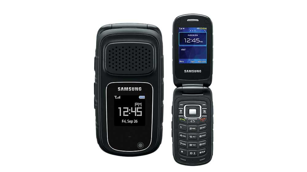 Samsung Rugby 4 rugged phone