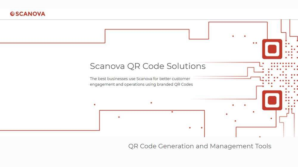 Scanova Qr code generator