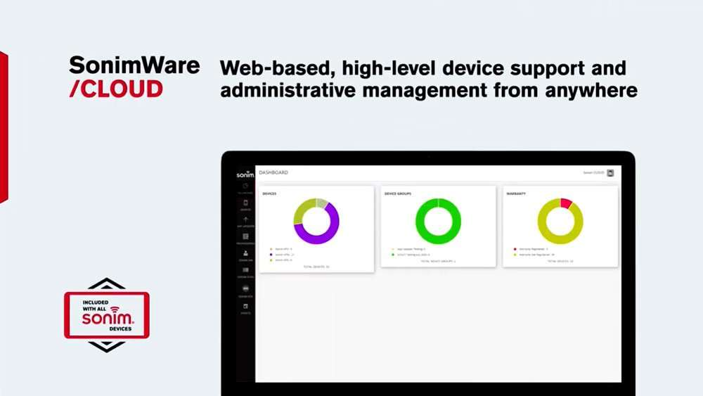 SonimWare Cloud on Sonim RS80 Tablet