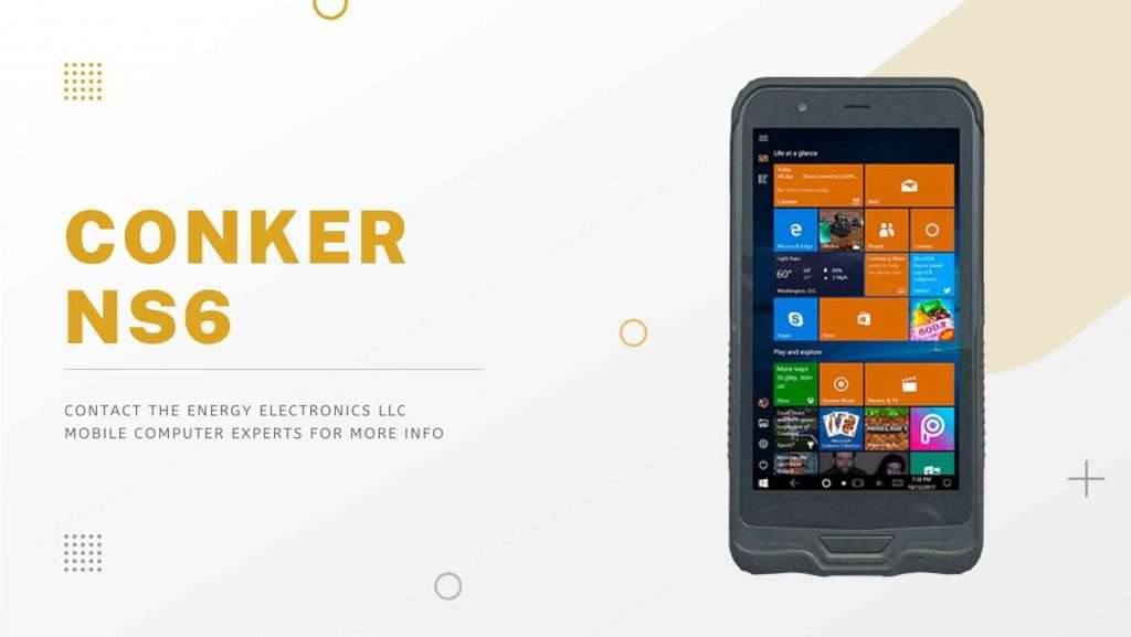 Conker NS6 Rugged Scanning Device
