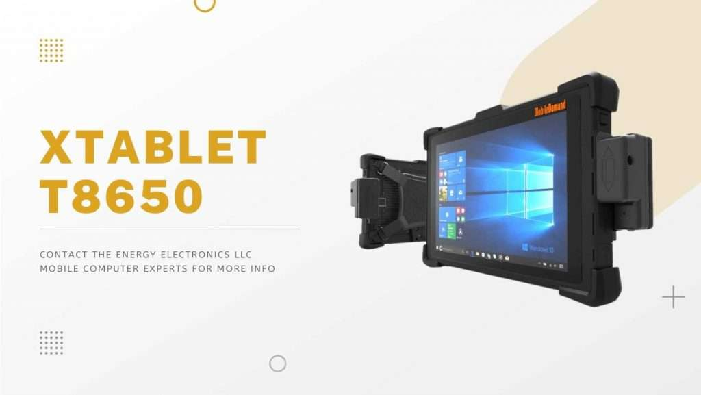 xTablet T8650 Tablets with Barcode Scanner