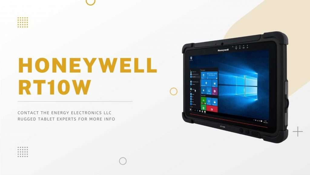 Honeywell RT10 Rugged Tablets with Barcode Scanners