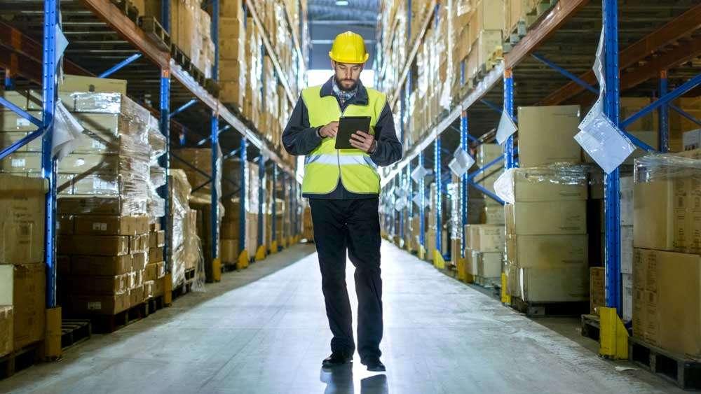 Zebra L10 XSlate Warehouse Workers