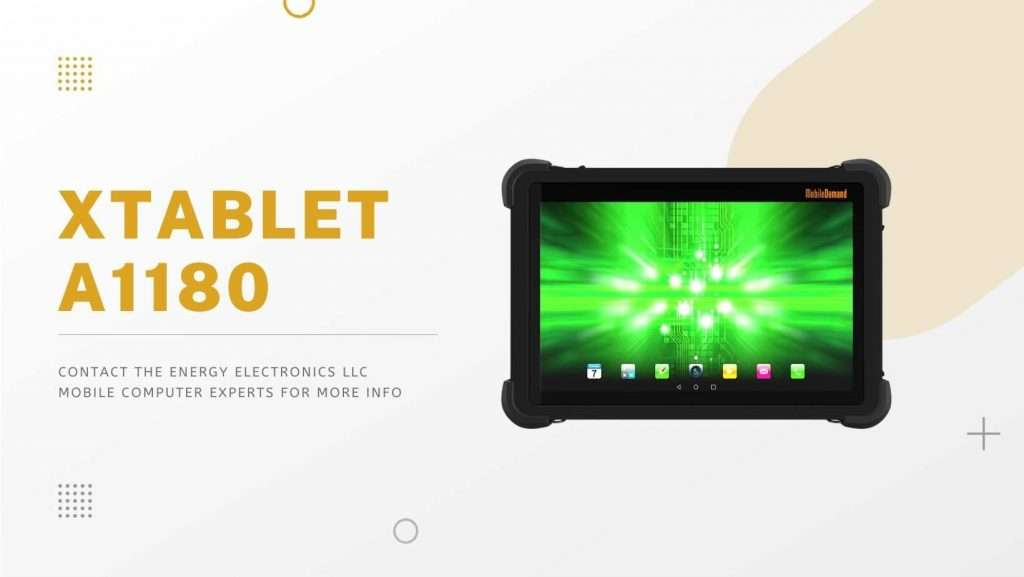 Tablet Barcode Scanners xTablet A1180